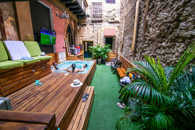 The Clock House best hostels in Cartagena