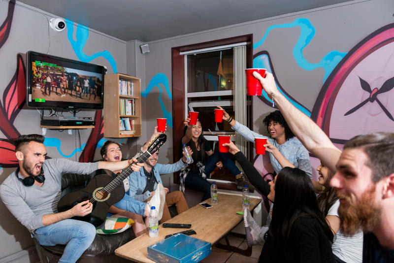 The Times Hostel never has a dull moment - be prepared to PARTY