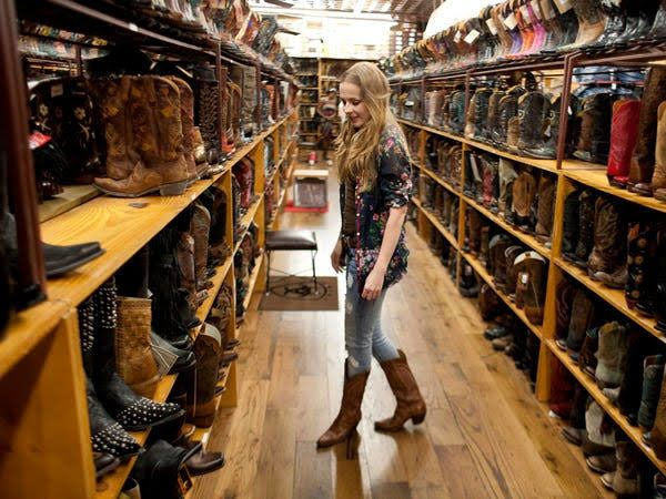 Go shopping at Allens Boots