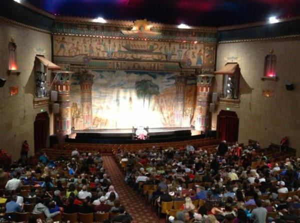 See a Show at the Egyptian Theater
